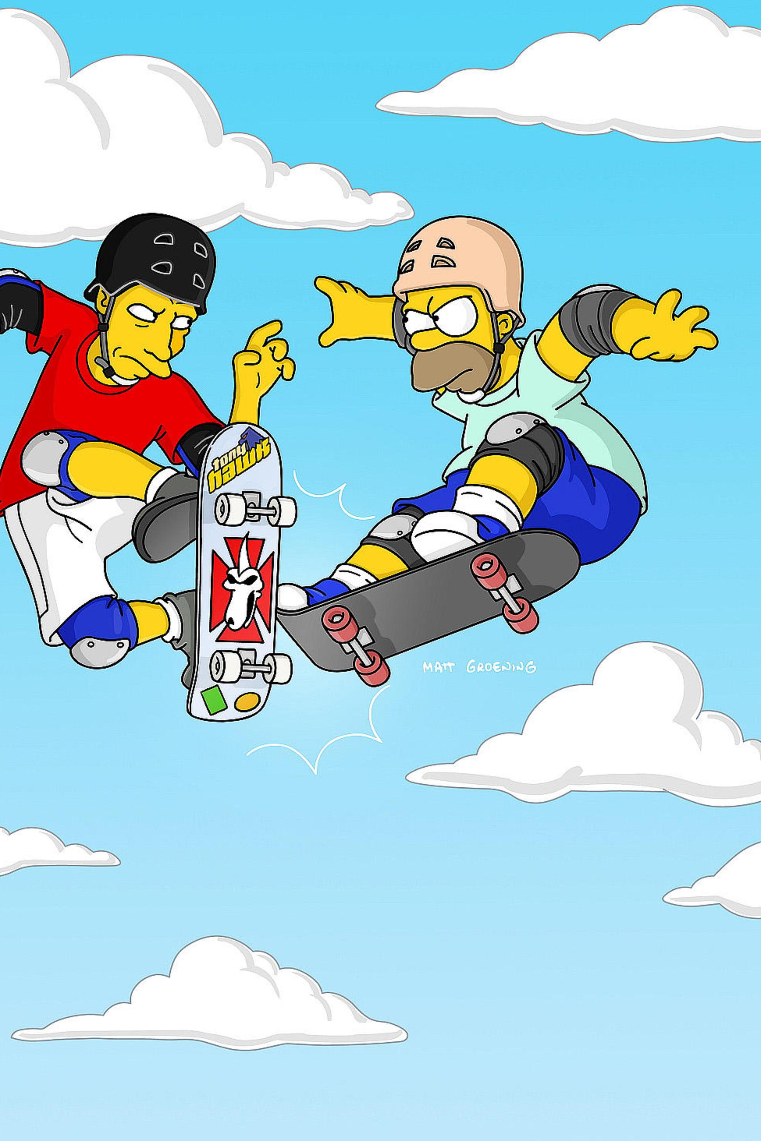 Les Simpson - Les muscles de Marge