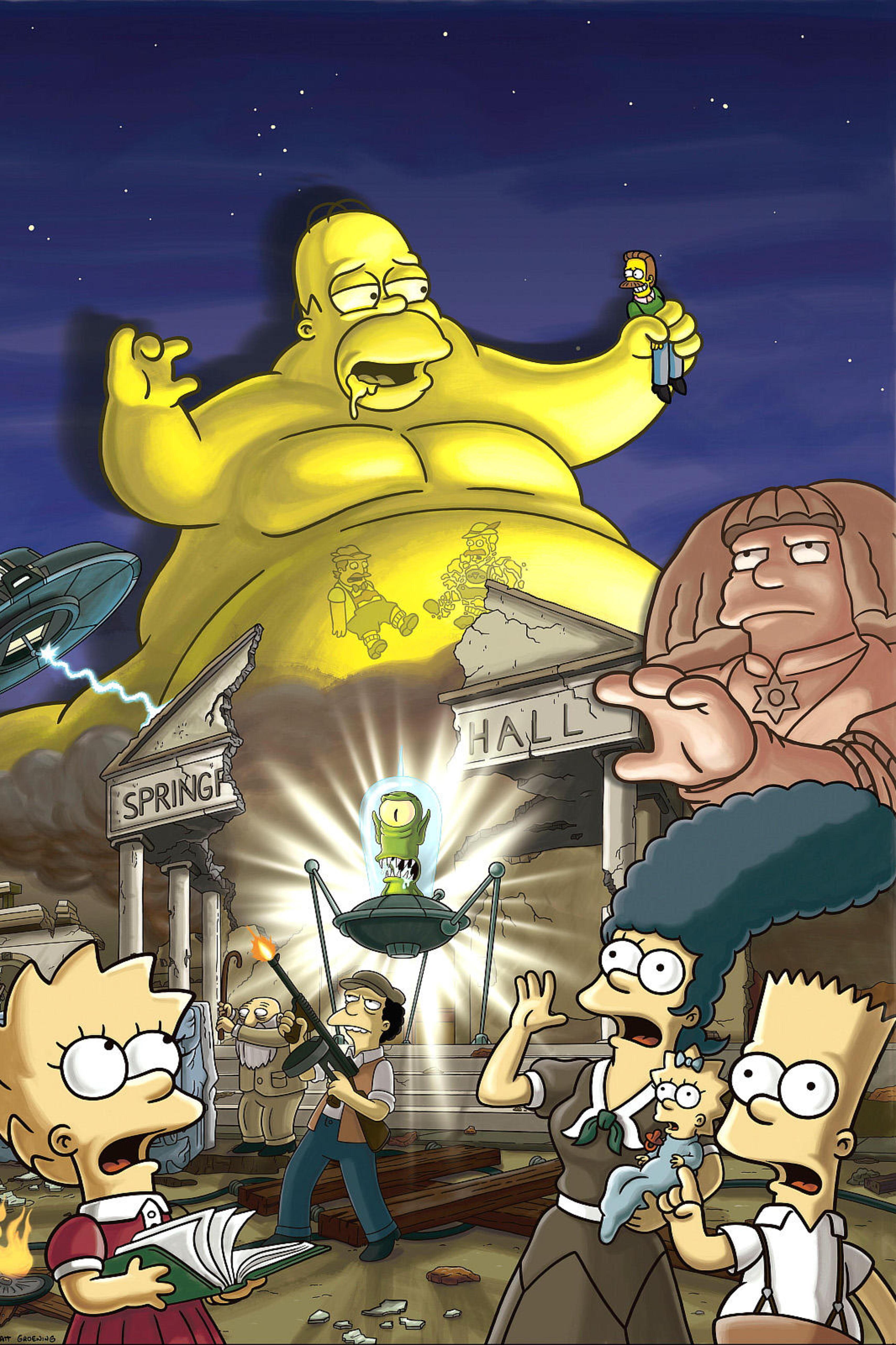 Les Simpson - Simpson Horror Show XVII