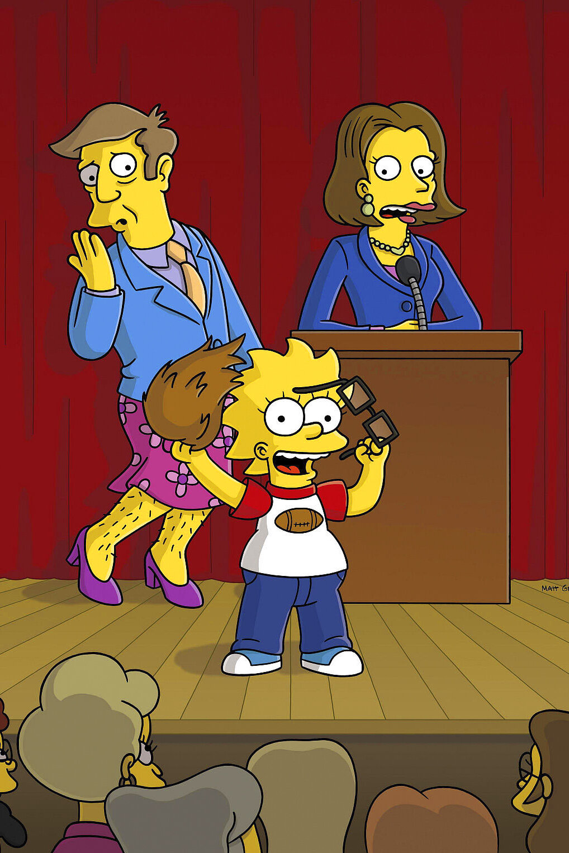 Les Simpson - Échec et math pour les filles