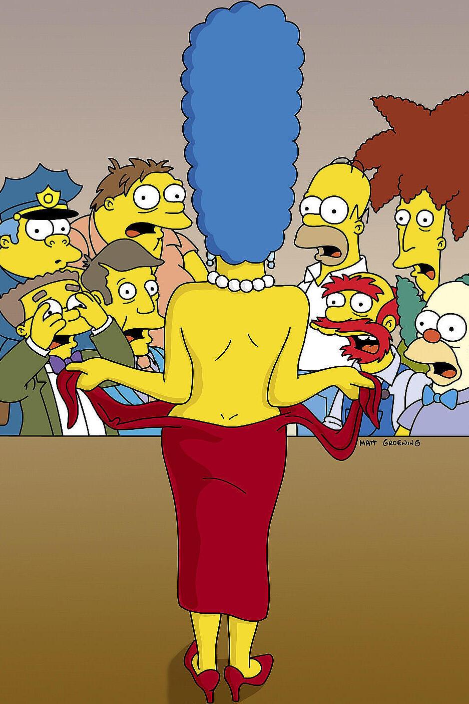 Les Simpson - La nouvelle Marge