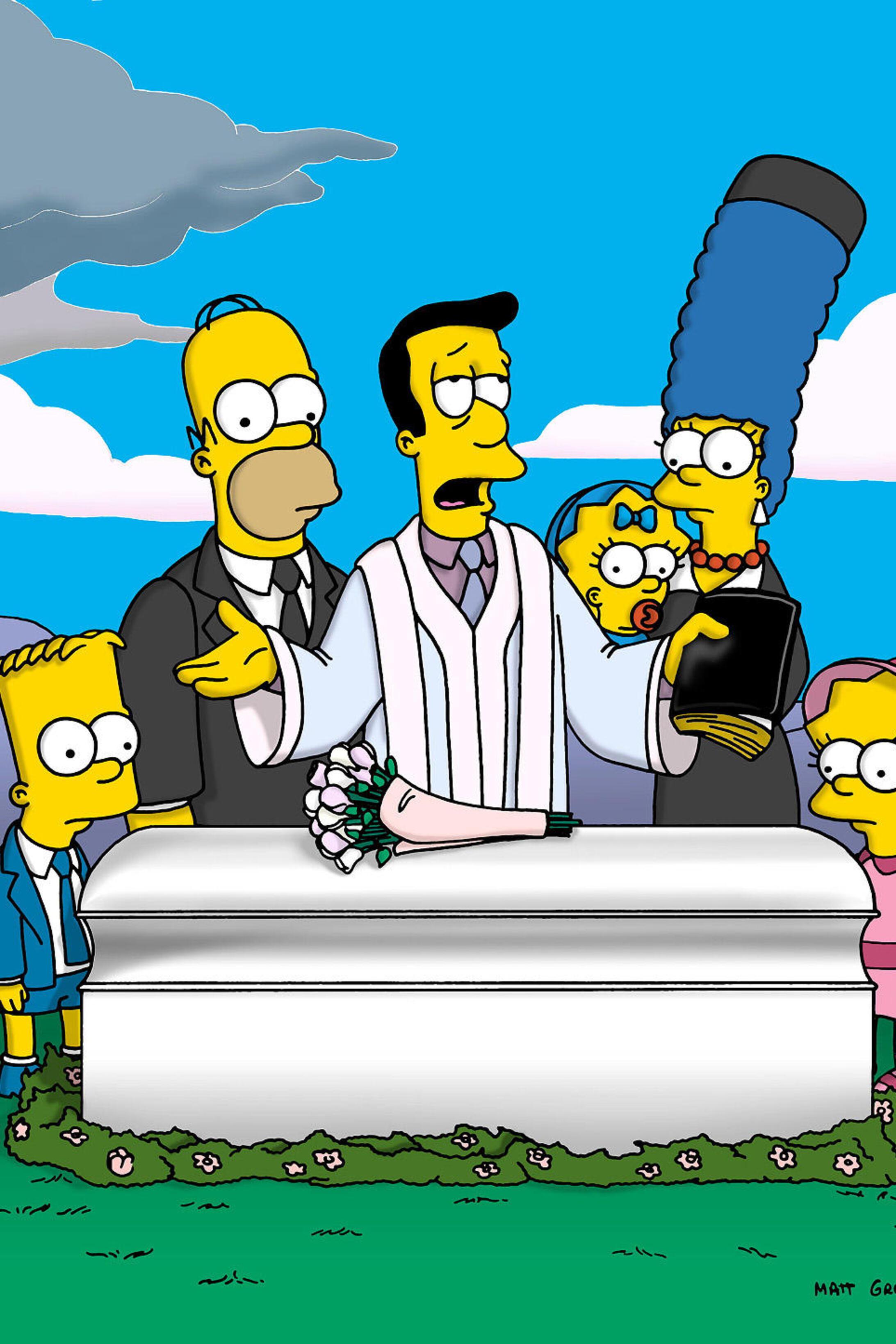 Les Simpson - Adieu Maude