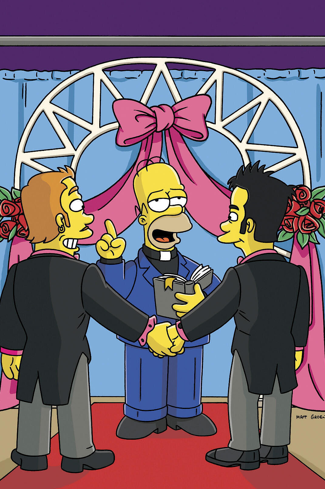Les Simpson - Déluge au stade