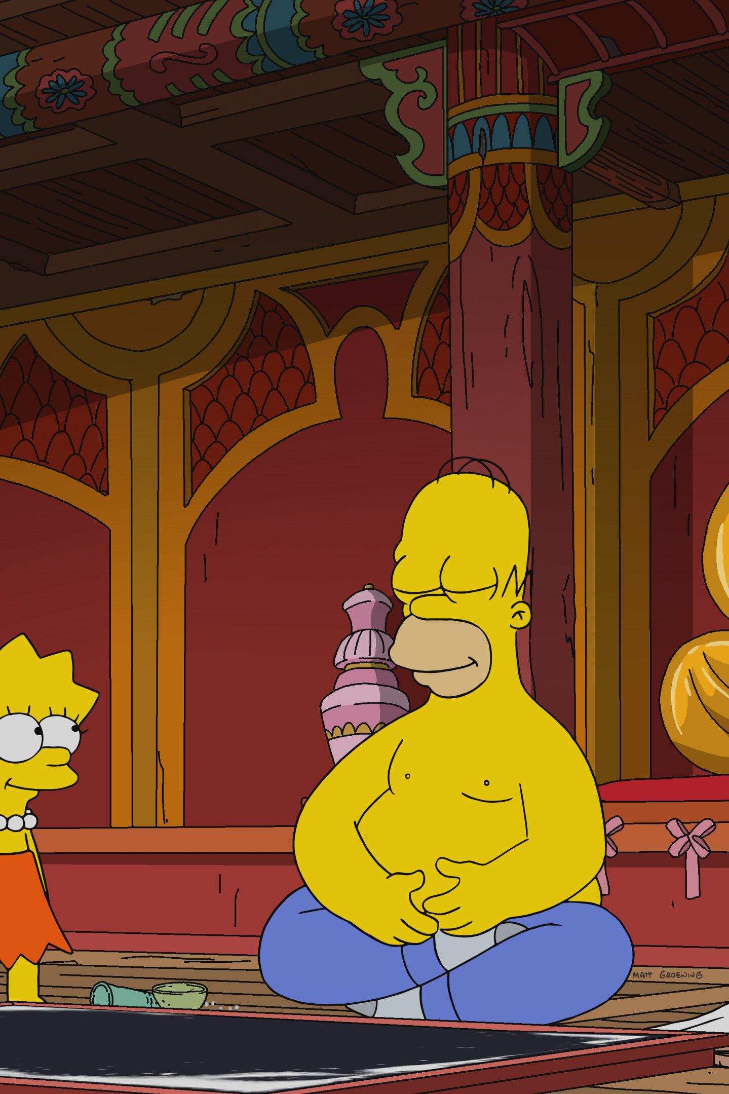 Les Simpson - Sports d'e-quipe