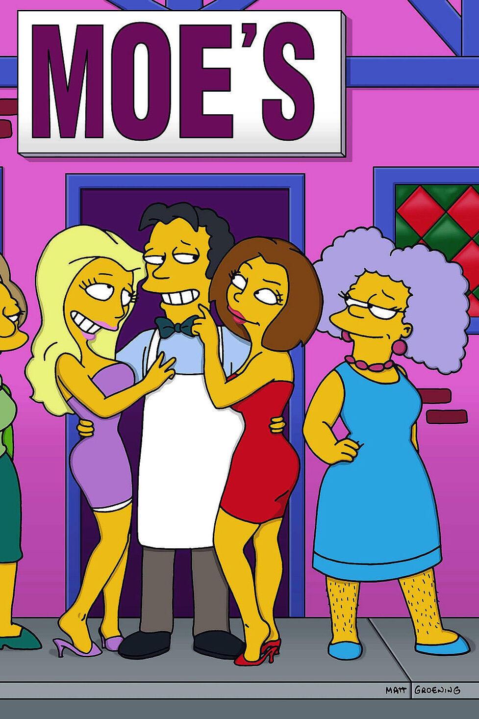 Les Simpson - Big Mama Lisa