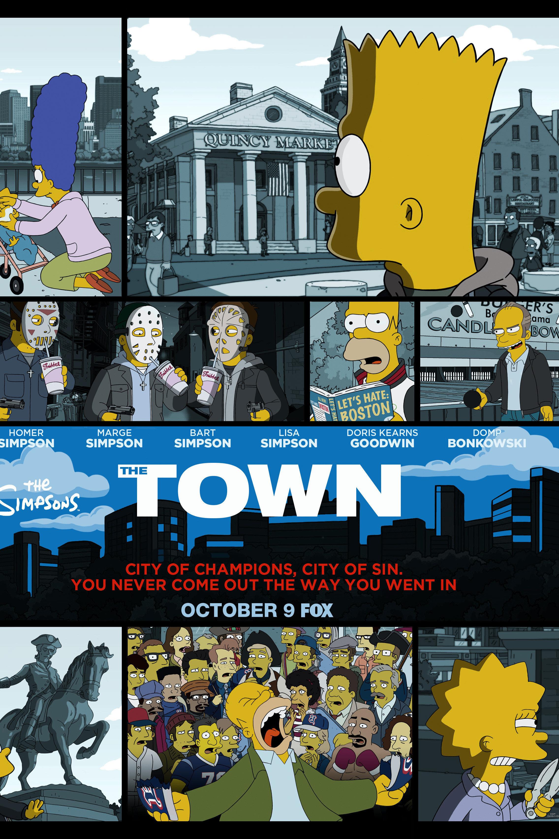 Les Simpson - La ville