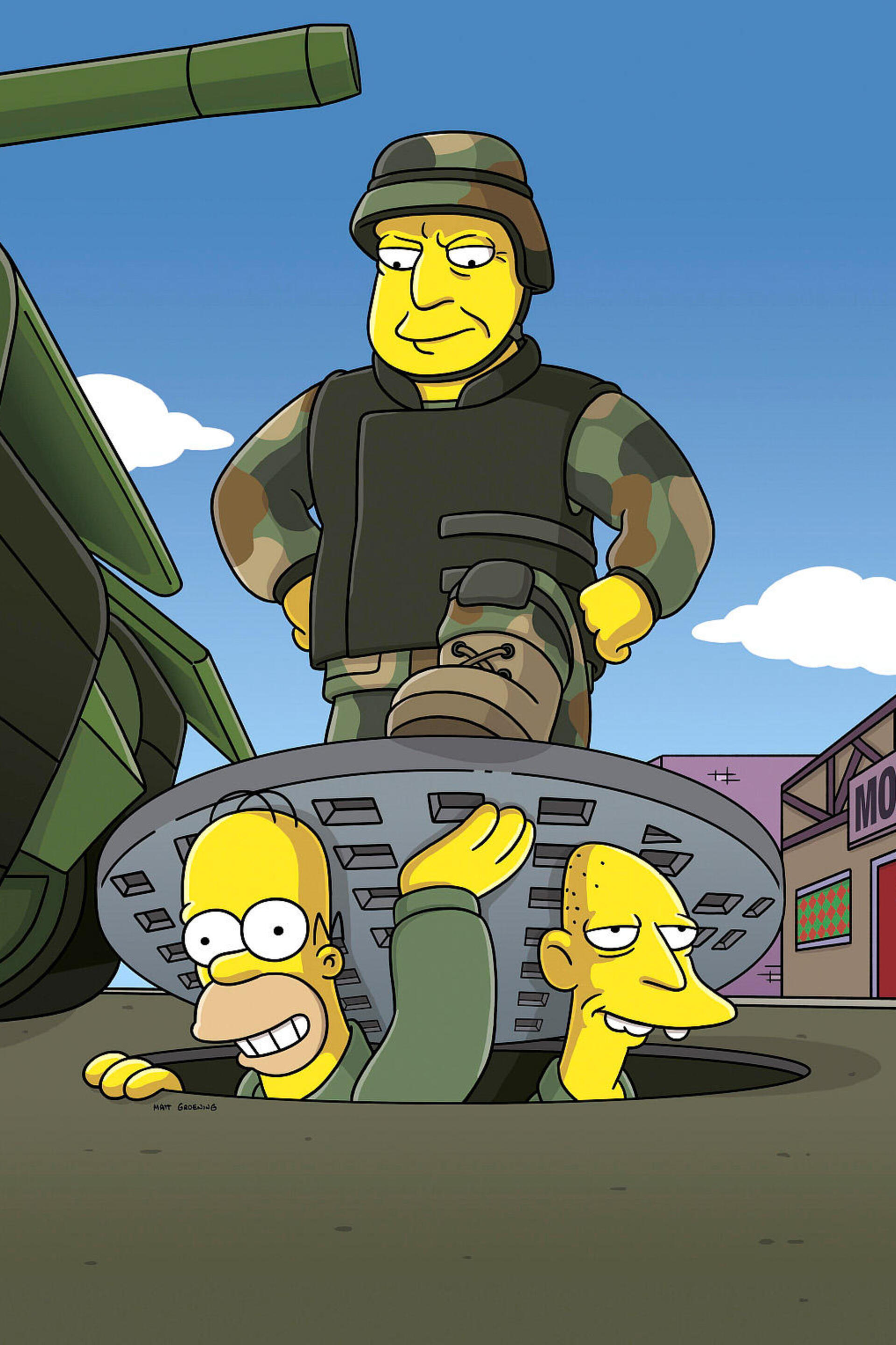 Les Simpson - Homer s'engage