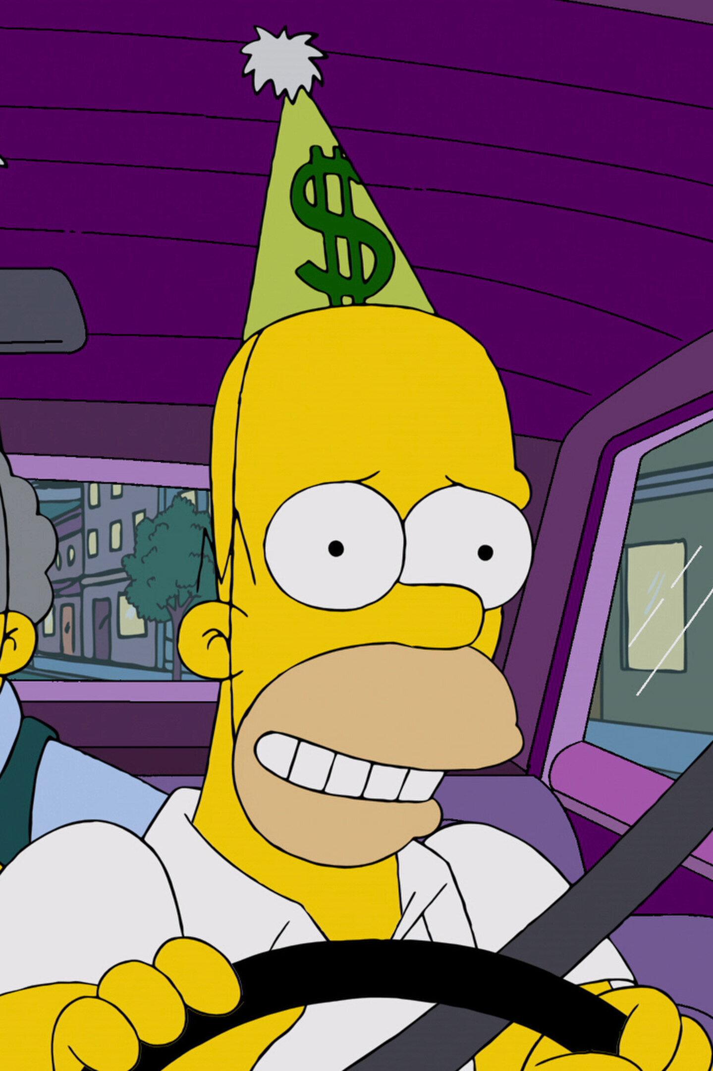 Les Simpson - Les Dangers du train