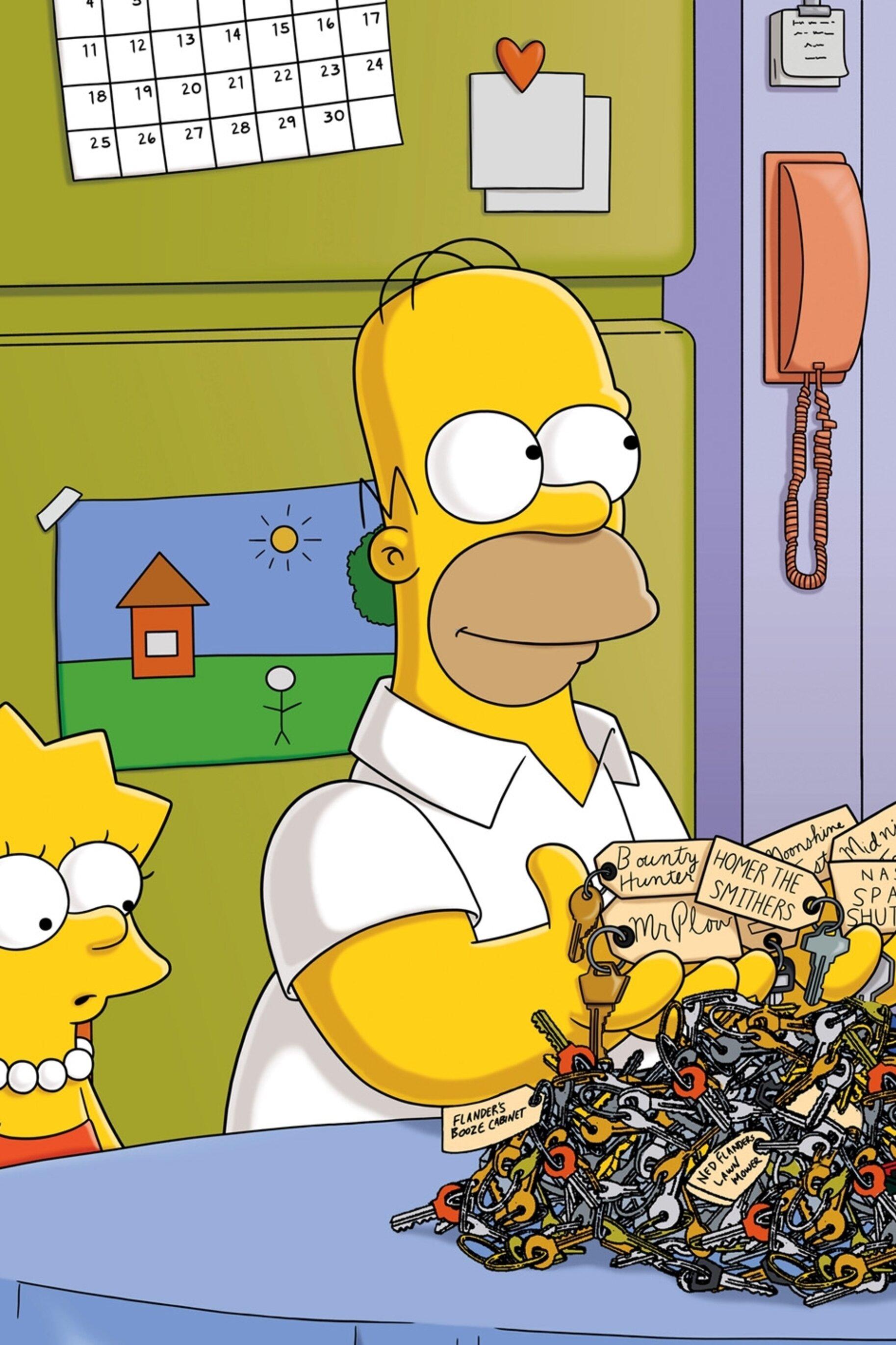 Les Simpson - 500 clés