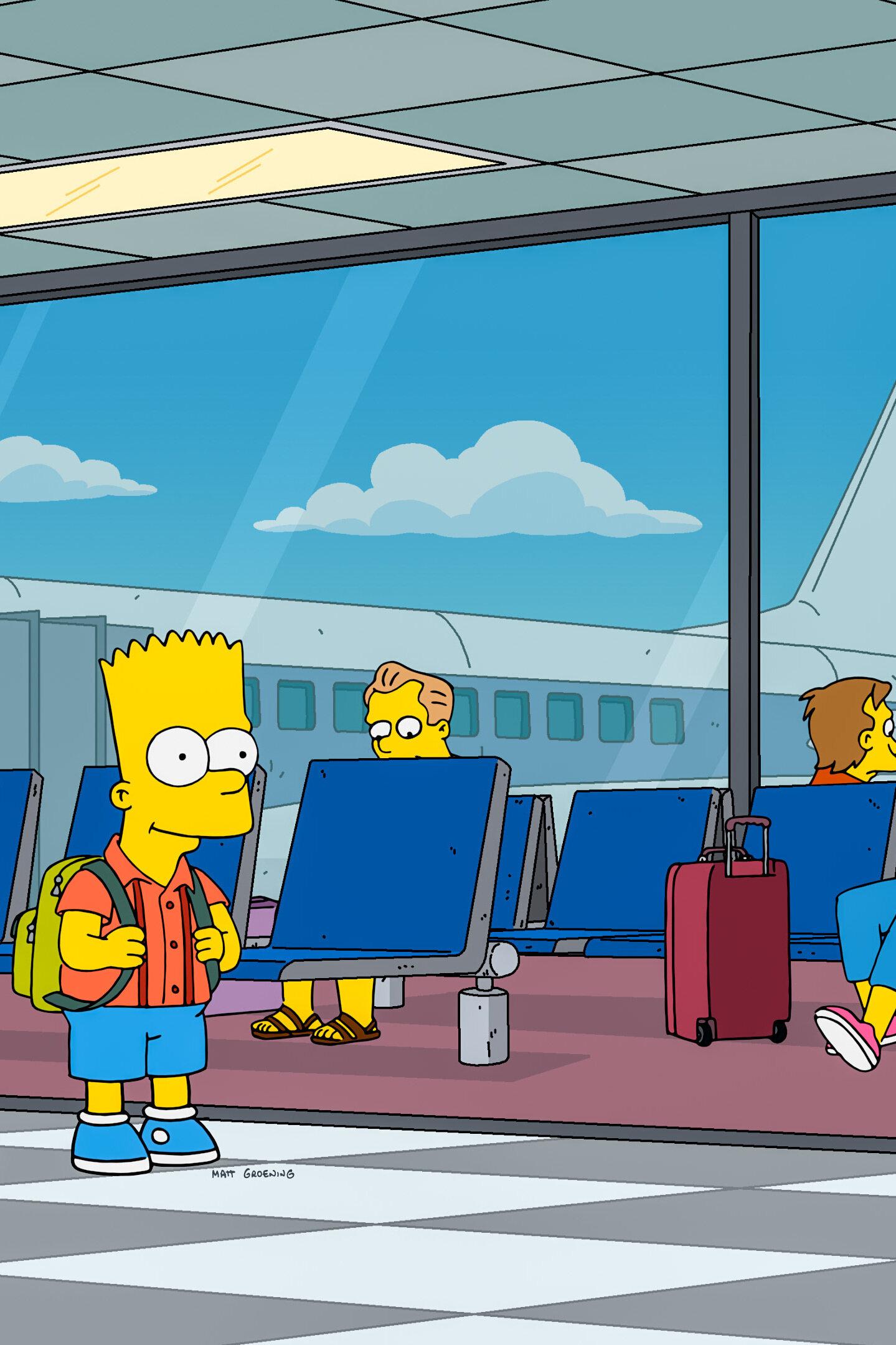 Les Simpson - La grosse ligne bleue