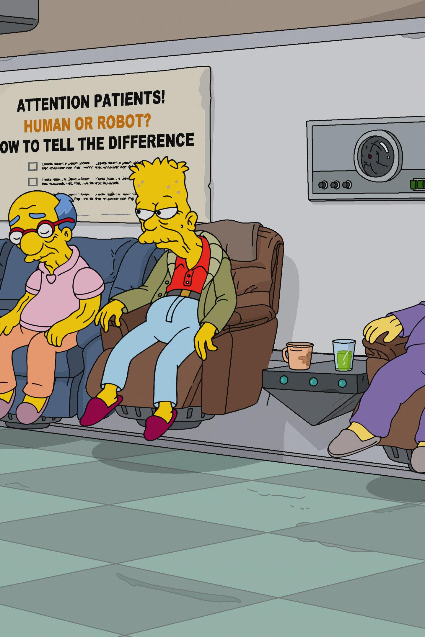 Les Simpson - Daddicus Finch
