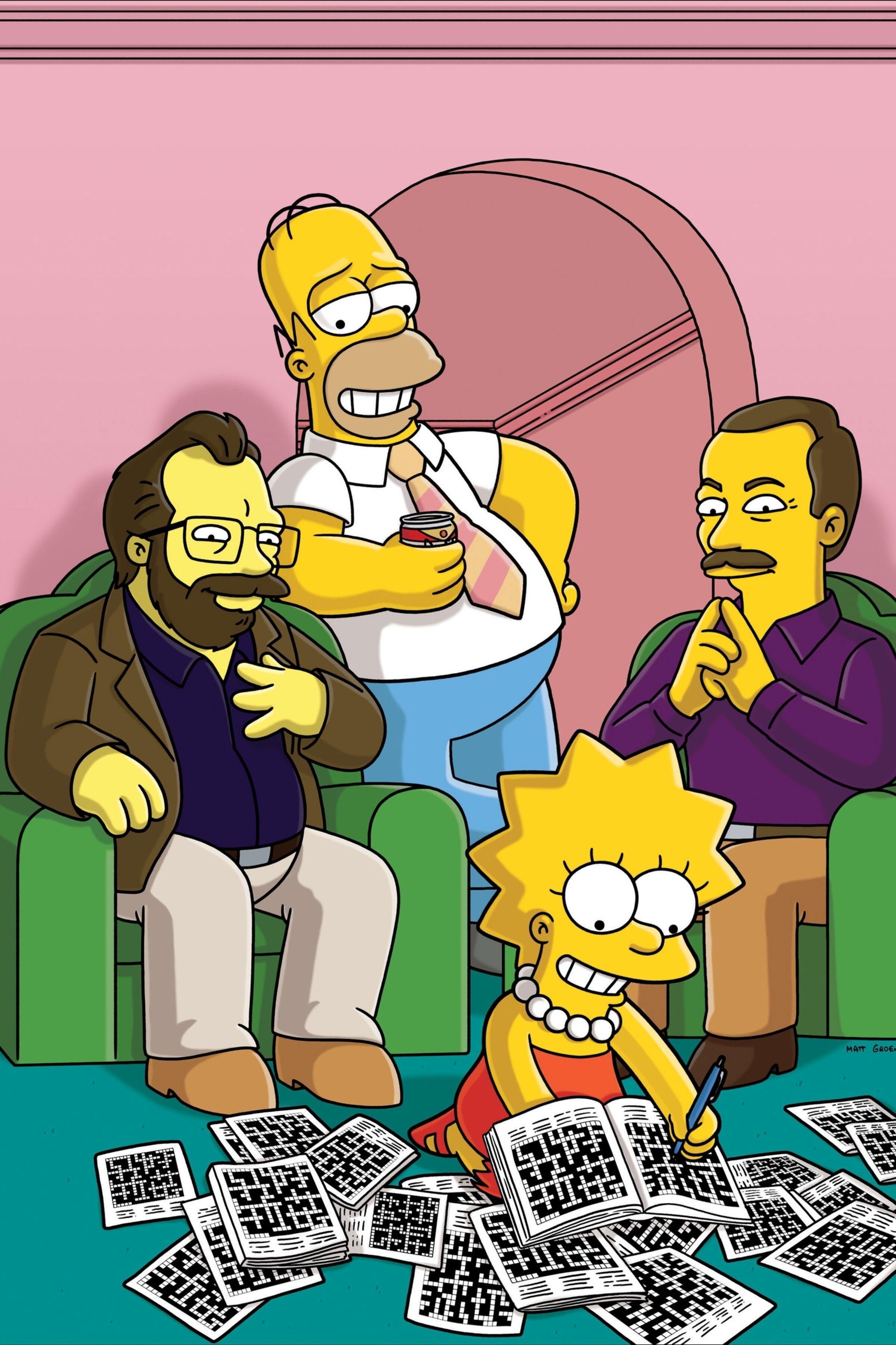 Les Simpson - Échange de mots croisés