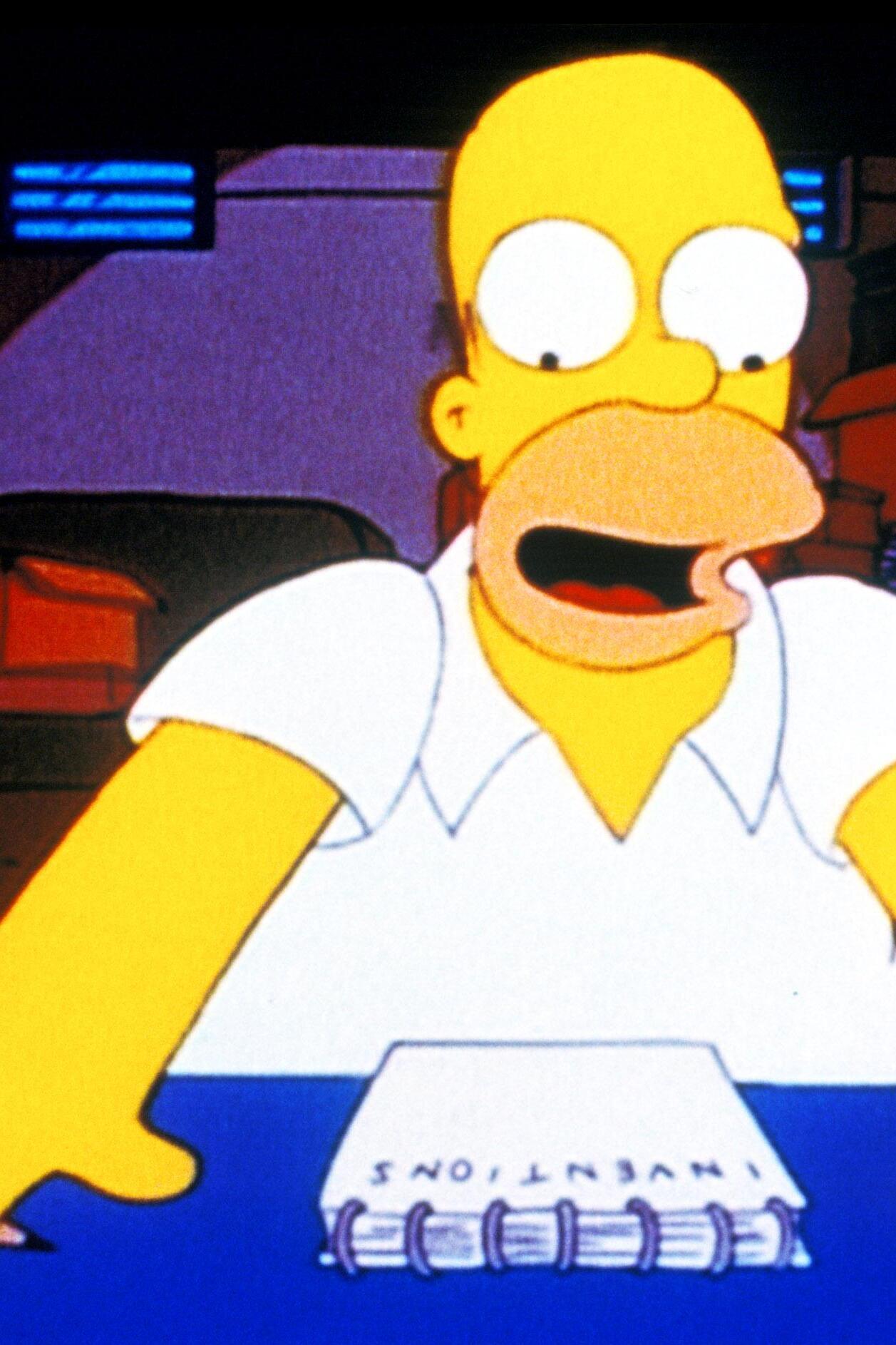 Les Simpson - La dernière invention d'Homer