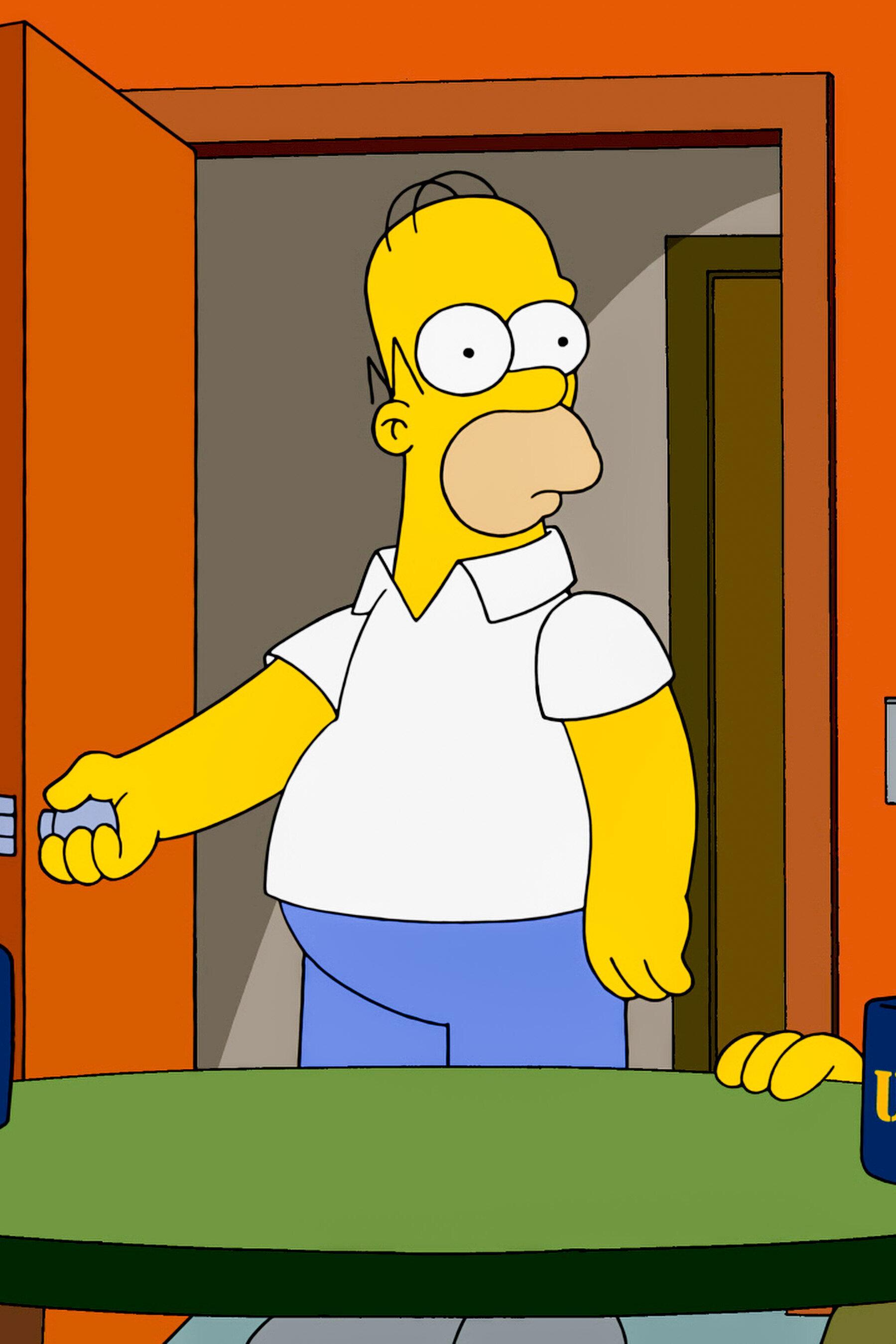 Les Simpson - Les vieux coucous