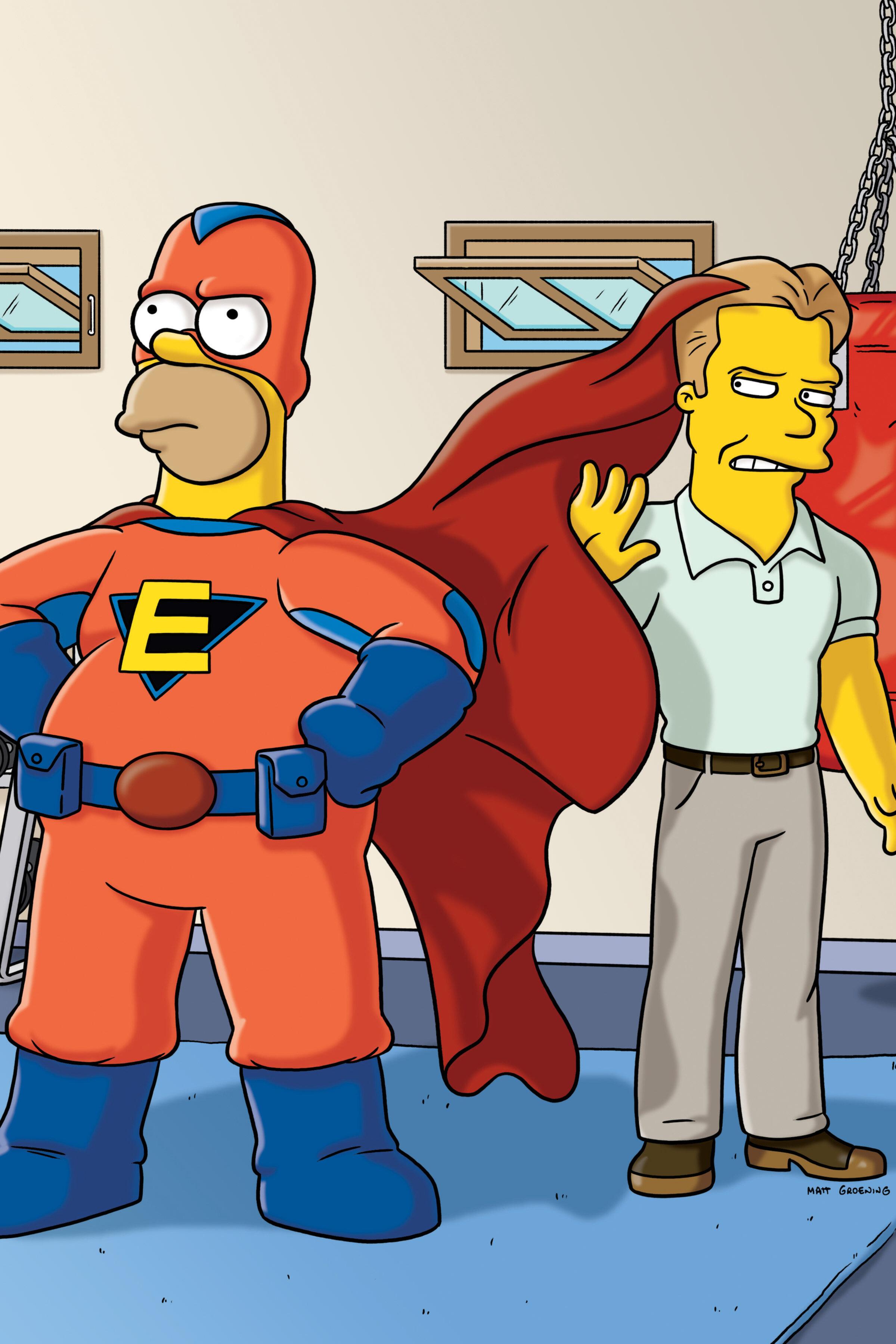 Les Simpson - Super Homer