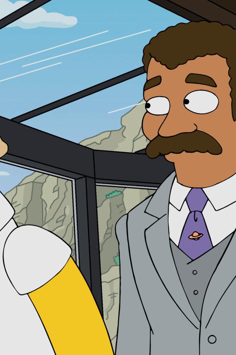 Les Simpson - Professeur Homer