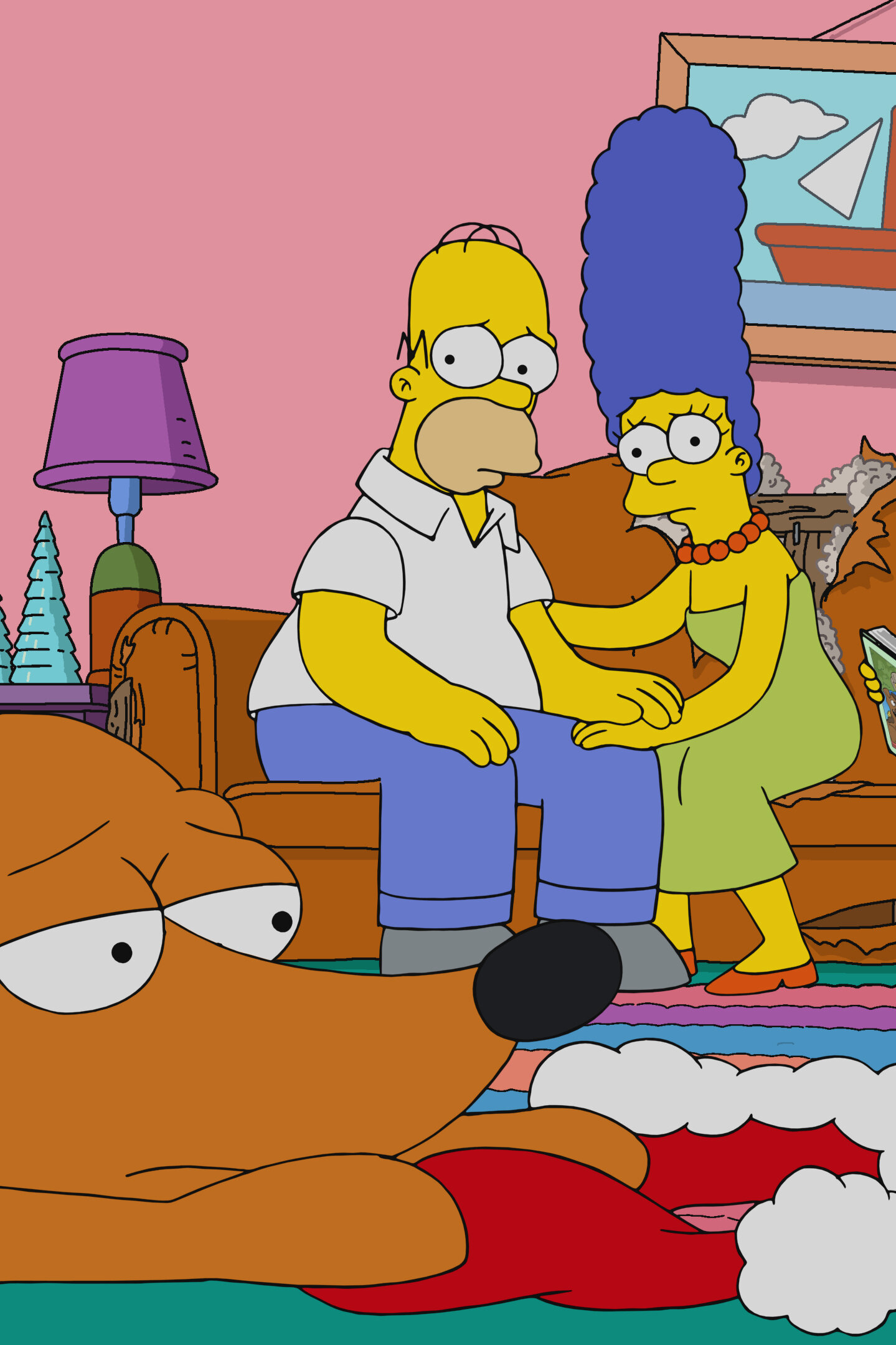 Les Simpson - A la façon du chien