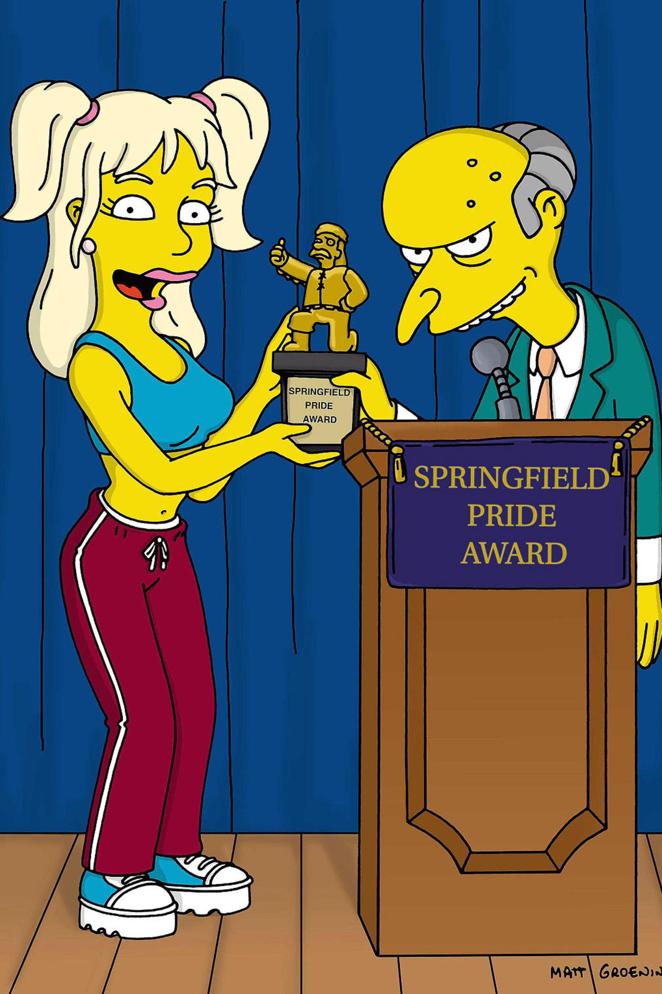 Les Simpson - La grande vie