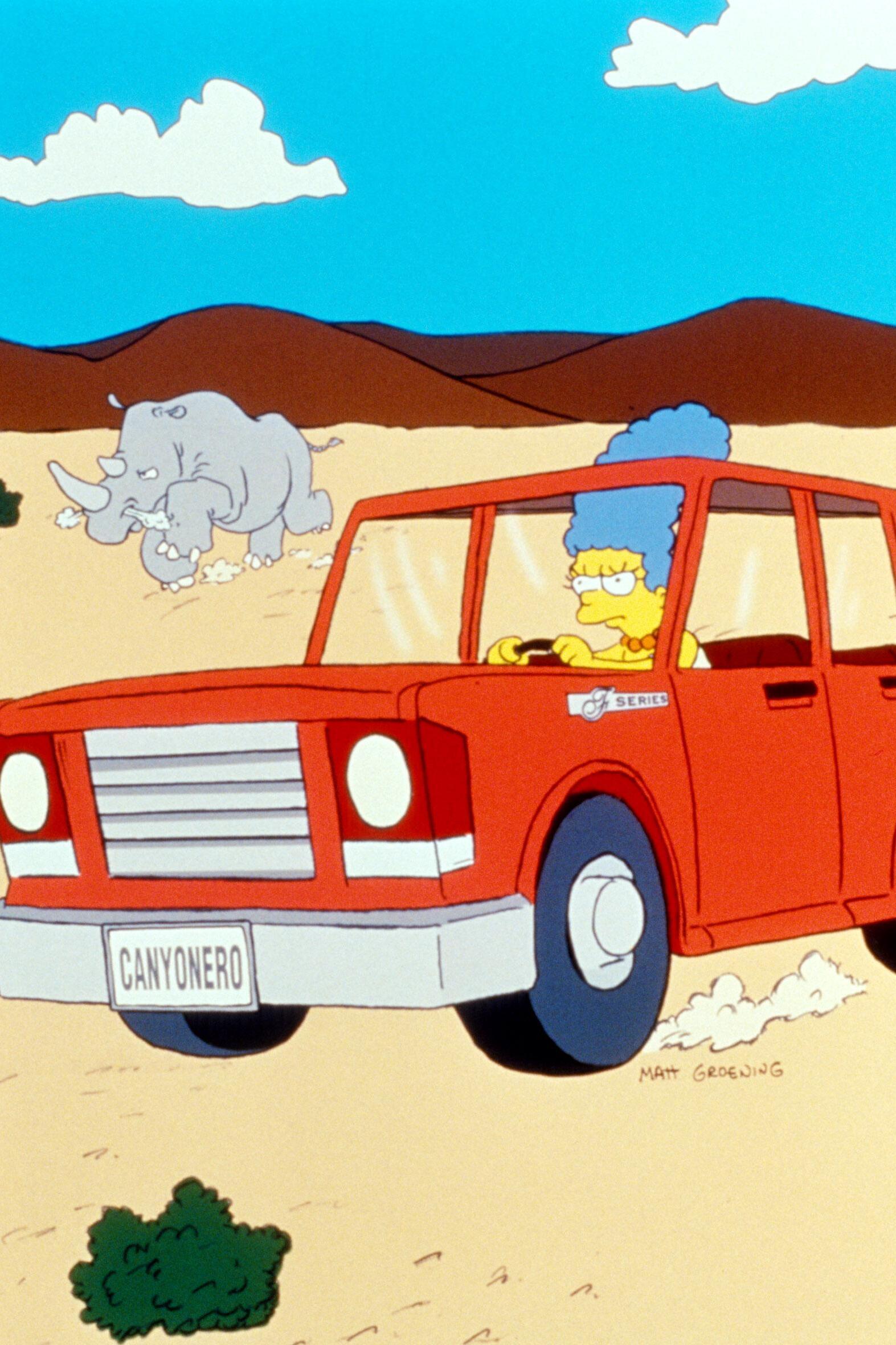 Les Simpson - La femme au volant